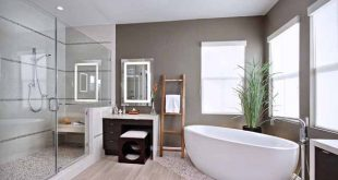 Floor design ideas for small bathrooms