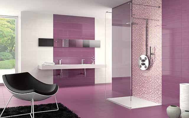 Tiles color combination for bathroom