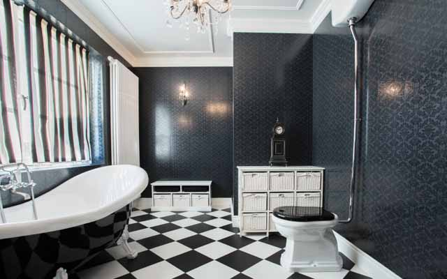 Creative Bathroom Tiles Ideas