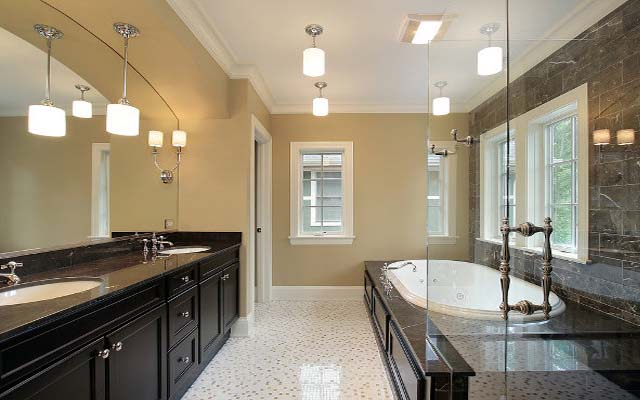 Bathroom lighting ideas over mirror