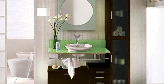 Modern bathroom vanity storage ideas