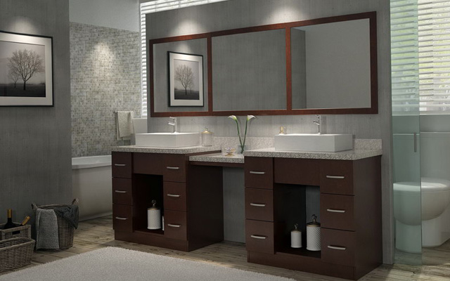 Ideas For Bathroom Vanities And Cabinets