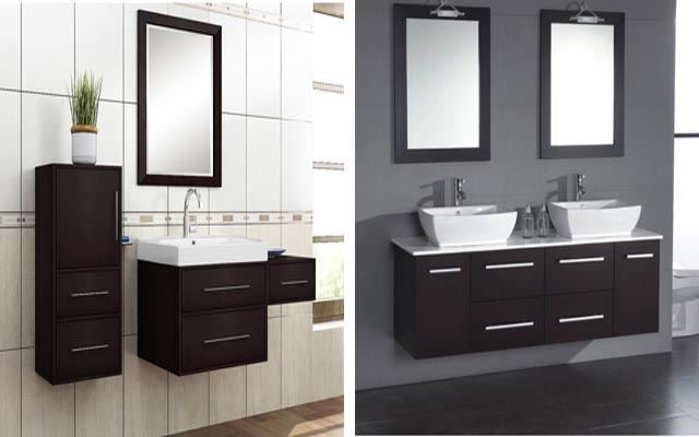 Ideas Bath Vanities For Small Spaces Bathroom