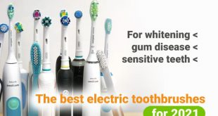 Best electric toothbrush for whitening, gum disease, sensitive teeth
