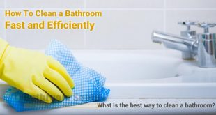 bathroom cleaning procedure housekeeping